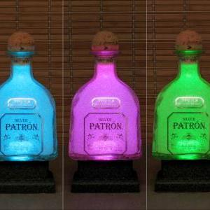 750ml Patron Silver Tequila Color C..