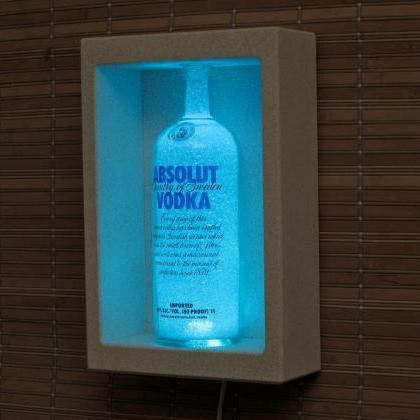Absolut Vodka Shadowbox Sconce Colo..