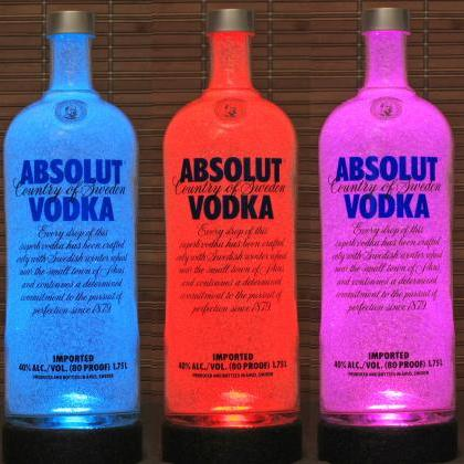 1.75 Liter Absolut Vodka Color Chan..