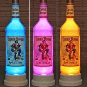 Captain Morgan Rum Color Changing B..