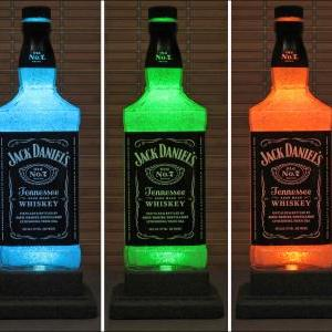 Jack Daniels Whiskey Color Changing..